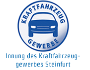 Logo Innung des Kraftfahrzeuggewerbes Steinfurt